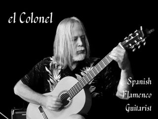 """Live Music Friday! Cozy up in Earth and Vine this evening with a glass of wine and Spanish Flamenco Guitar: El Colonel from 7-9pm. For the past 20 plus years, Curran """"El Colonel"""" Stromberg has been playing blues, classical and flamenco guitar off all shades at festivals, clubs, showcase theaters, and private events across Washington State. He brings his own unique take and masterful talents with the flamenco guitar, and it's always a spectacular performance.  . . . . . . . . . . #livemusic #guitar #spanish #flamencoguitar #pleasantbeachvillage #musicvenue #bainbridgeisland #bainbridgelivemusic #tunes #friday #earthandvine #winebar"""