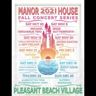 We are thrilled to announce tickets are ON SALE NOW for the inaugural Pleasant Beach Village Fall/Winter Concert Series in the Manor House.   We have an incredibly exciting lineup of world-class artists to help us inaugurate this iconic new venue that will take us all the way through the holiday season.  Buy your tickets now!   Click the link in bio to secure your seats before they're gone!!! . . . . . . . . . . . . . . #winterconcertseries #2021 #concert #pleasantbeachvillage #music #livemusic #livemusicvenue #bainbridgeisland #bainbridgelivemusic